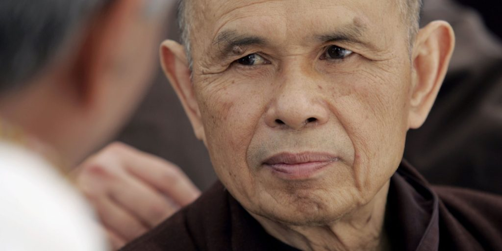 Thich Nhat Hanh meditation present moment