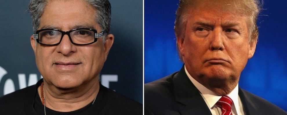 Deepak Chopra on Donald Trump: He Has the Emotional Development of a 3 Year Old!