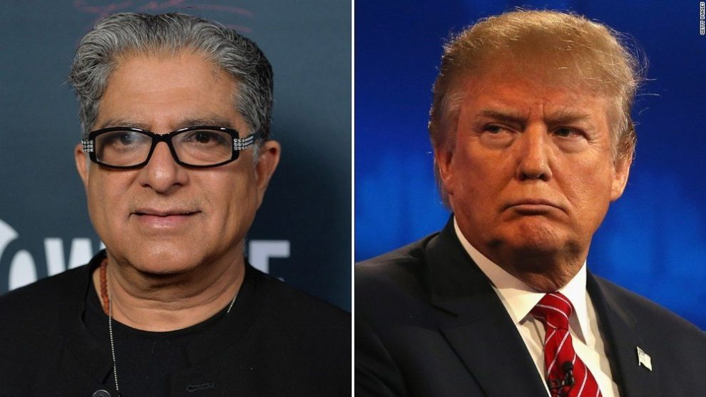Deepak Chopra on Donald Trump: He Has the Emotional Development of a 3 Year Old!