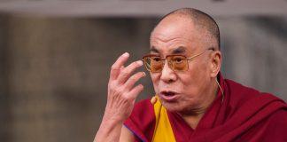 Dalai Lama anger