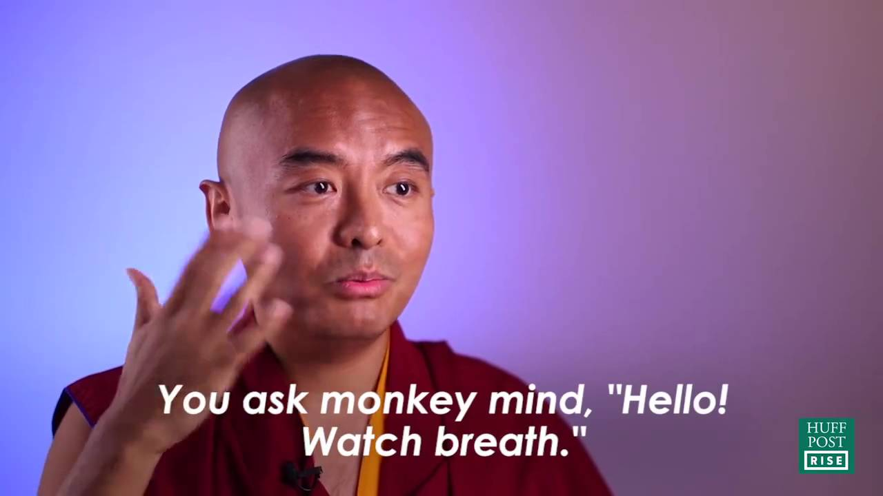 Tibetan Buddhist Master Reveals the Best Mindfulness Technique For Training Your Monkey Mind