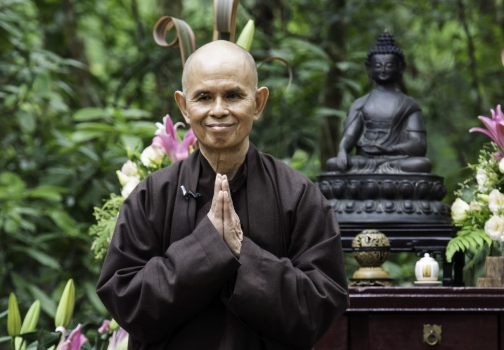 """To love without knowing how to love wounds the person we love."" Thich Nhat Hanh on mastering the art of ""interbeing"""