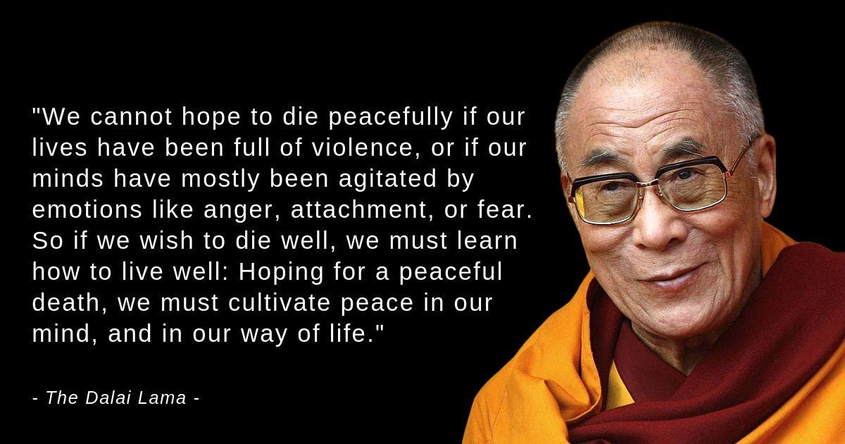 The Dalai Lama On Death Rare Excerpt