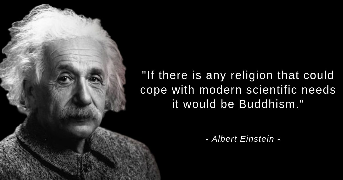 what einstein thought about buddhism