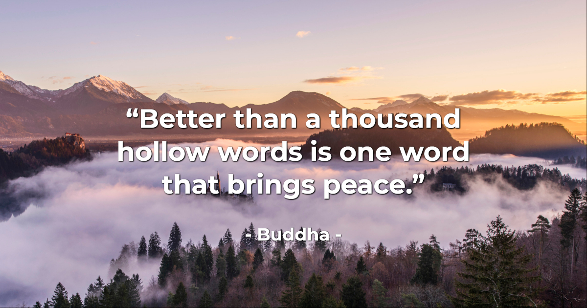 The 100 most powerful Buddha quotes (my personal selection)