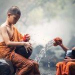 Buddhist monk life of a Buddhist monk