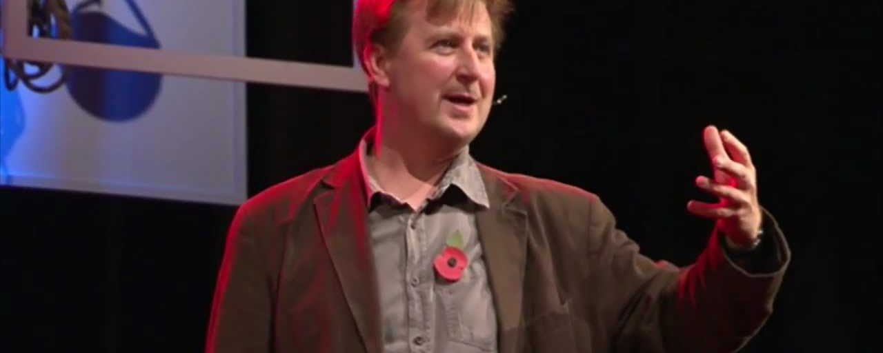 Philosopher offers a radical different perspective about life in a viral TED talk