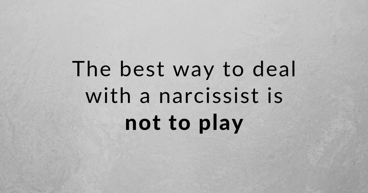 These 5 tips make dealing with a narcissist so much easier