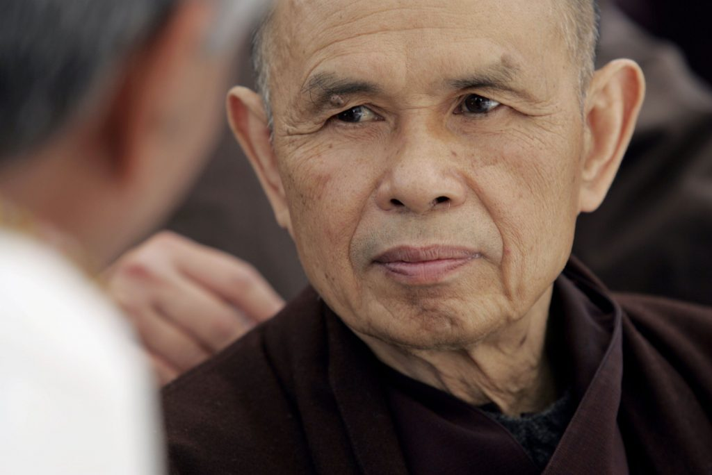 100 Thich Nhat Hanh Quotes (Suffering, Happiness and Letting Go)