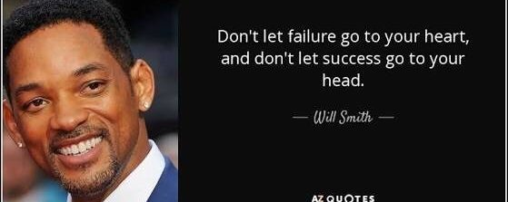 Why you need to fail, according to Will Smith