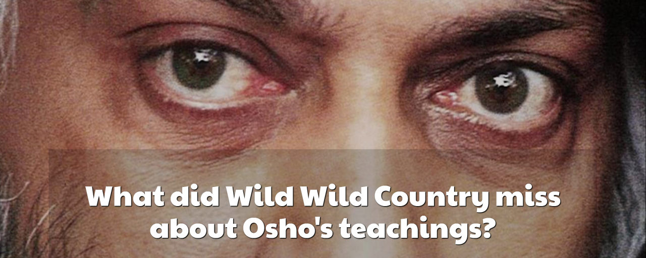 What did Wild Wild Country miss about Osho's teachings?