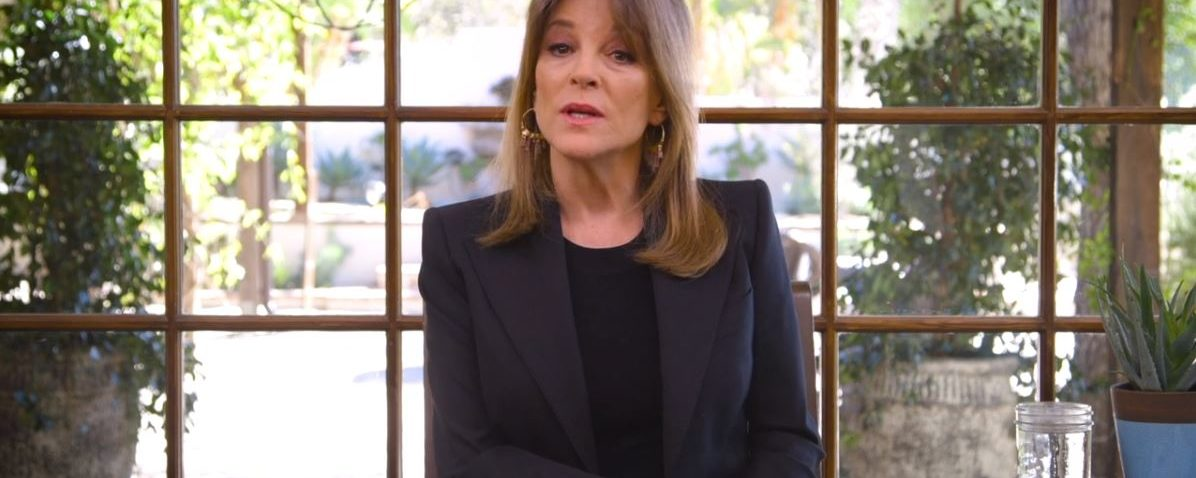 Marianne Williamson announces she aims to run for president in 2020