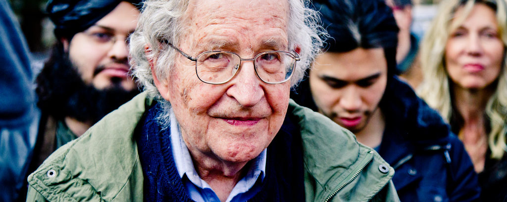 Noam Chomsky reveals the key threat to human survival in the 21st century