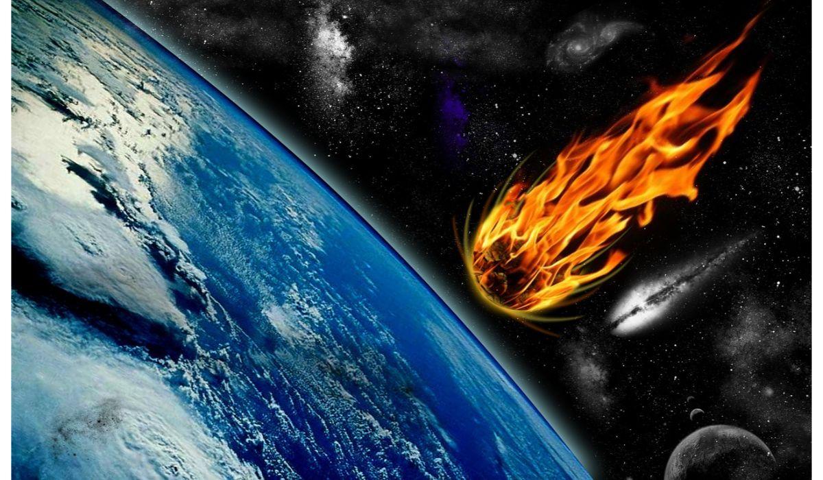permian period meteor impact